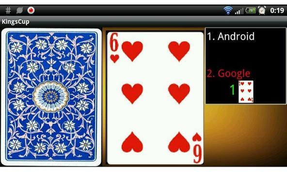 Kings Cup (Drinking Game) Beta apk screenshot