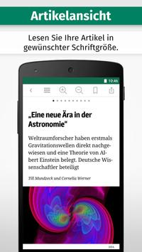NRZ ZEITUNG DIGITAL apk screenshot