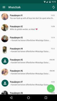 WhatsStalk apk screenshot