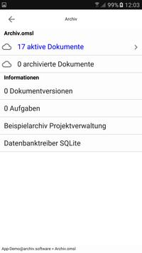 """Office Manager DMS """"to go"""" apk screenshot"""
