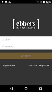 Modehaus Ebbers screenshot 1