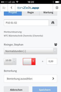 KWP zeiterfassung screenshot 1