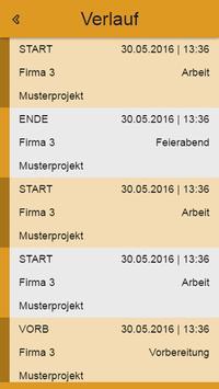 Horlemann Zeiterfassung apk screenshot