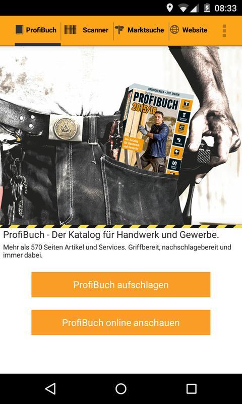 hornbach profibuch apk download free shopping app for. Black Bedroom Furniture Sets. Home Design Ideas