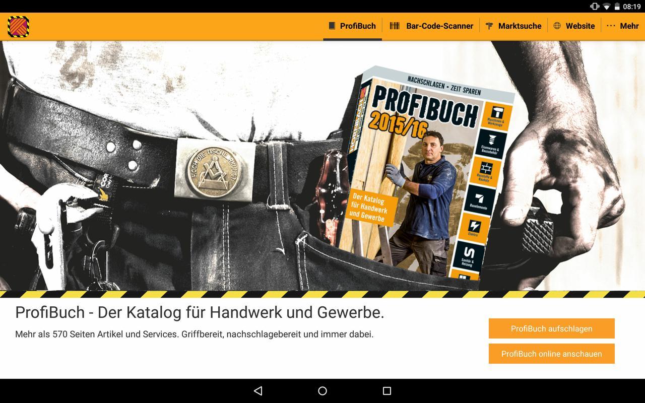 HORNBACH ProfiBuch APK Download Free Shopping APP For Android - Hornbach fliesen katalog