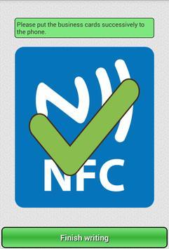 NFC Business Card apk screenshot