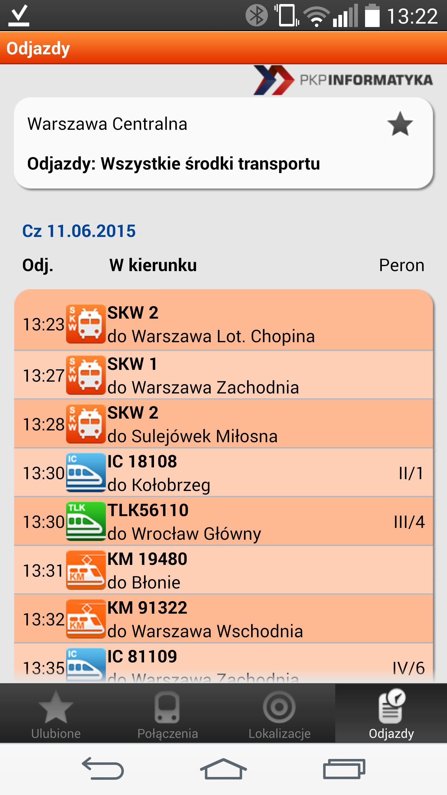 Rozkład Pkp Rozkład Jazdy Pociągów For Android Apk Download
