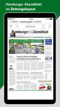 Hamburger Abendblatt – E-Paper poster