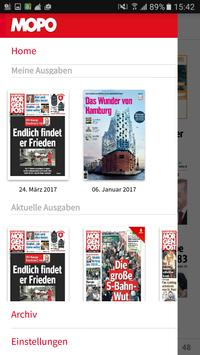 Hamburger Morgenpost E-Paper apk screenshot