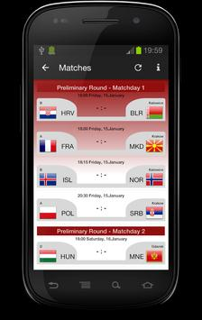 Handball EC 2016 screenshot 1