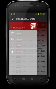 Handball EC 2016 screenshot 2