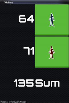 Visitors Counter apk screenshot
