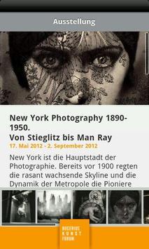 Bucerius Kunst Forum poster