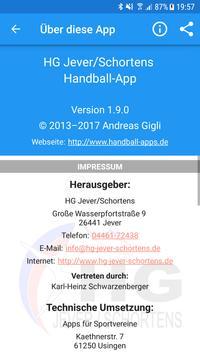 HG Jever/Schortens apk screenshot
