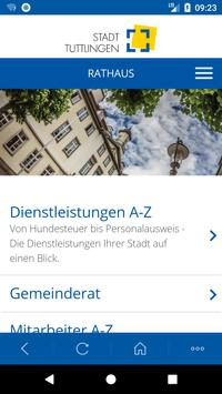 Tuttlingen City App screenshot 1