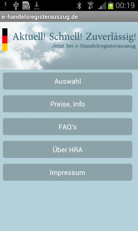 Handelsregisterauszug For Android Apk Download