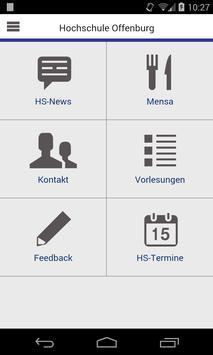 Campus-App HS Offenburg poster