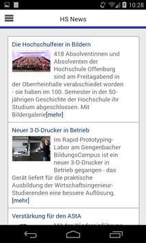 Campus-App HS Offenburg apk screenshot