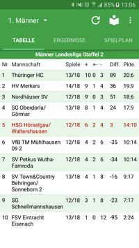HSG Hörselgau/Waltershausen poster