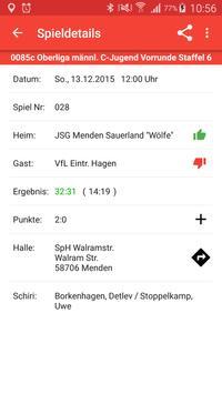 SG Menden Sauerland Wölfe screenshot 2