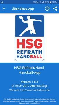 HSG Refrath/Hand screenshot 3
