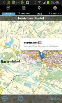 Stadtplan Harsewinkel poster