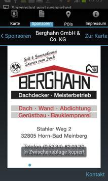 Stadtplan Horn-Bad Meinberg apk screenshot