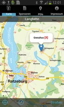 Stadtplan Ratzeburg poster