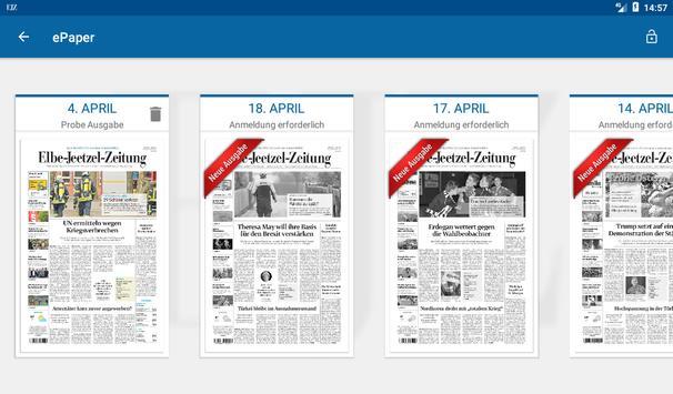 Elbe-Jeetzel-Zeitung screenshot 11