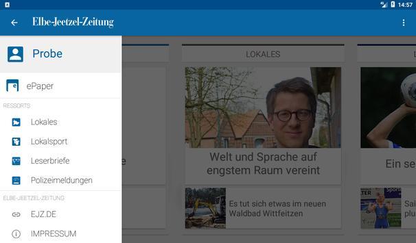 Elbe-Jeetzel-Zeitung screenshot 9