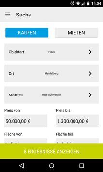 Immobilienportal Heidelberg screenshot 1