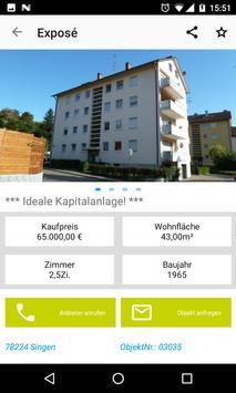 Immobilienportal SBH screenshot 2