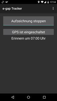 e-Gap Tracker screenshot 1
