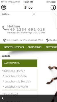 Insekten Kochbuch apk screenshot