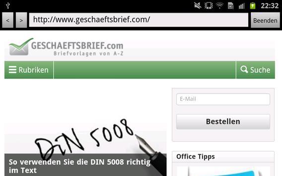 Geschaeftsbriefcom For Android Apk Download