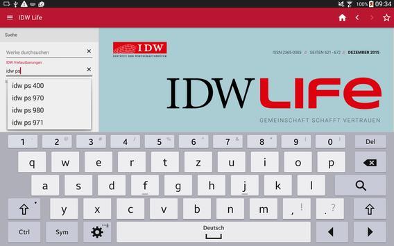 IDW Life apk screenshot