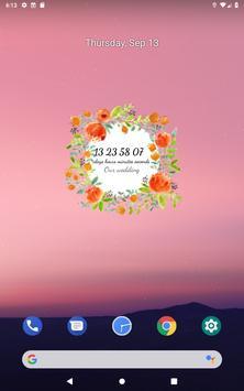 Wedding Countdown स्क्रीनशॉट 13