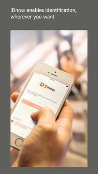 IDnow Online Ident poster