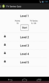 TV Series Quiz apk screenshot