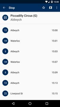 London Bus Live Departures apk screenshot