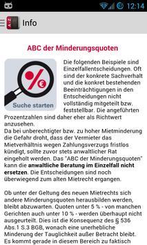 ABC der Mietminderungsquoten poster