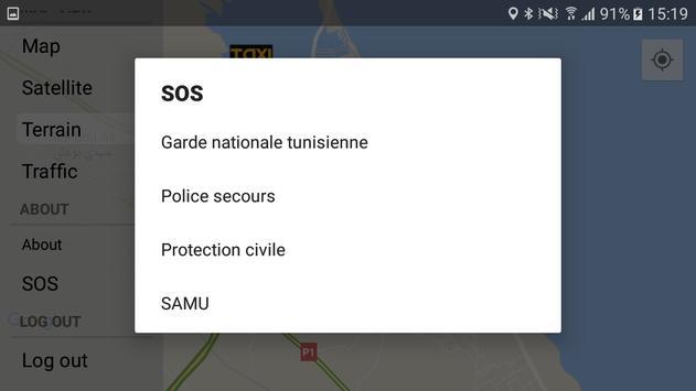 e-SAAD Taxi - CHAUFFEUR screenshot 11