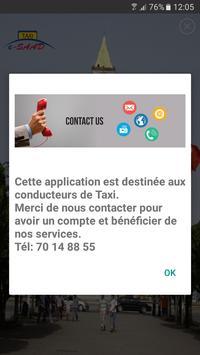 e-SAAD Taxi - CHAUFFEUR screenshot 2