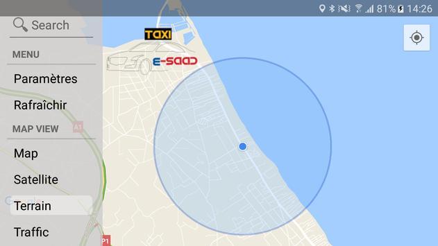e-SAAD Taxi - CHAUFFEUR screenshot 6