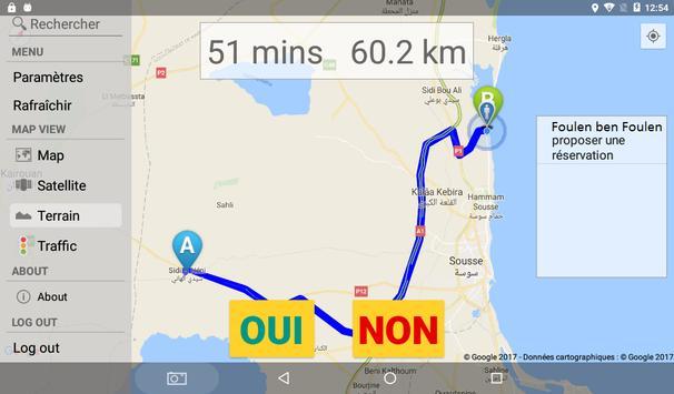 e-SAAD Taxi - CHAUFFEUR screenshot 8