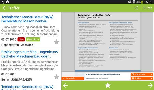 JOBworld Jobsuche apk screenshot