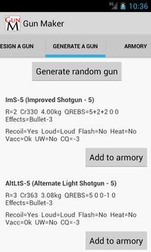 Gun Maker apk screenshot