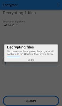 Secure Encryptor screenshot 2
