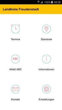 Abfall App LK Freudenstadt poster