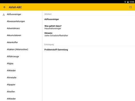 Abfall App LK Freudenstadt apk screenshot